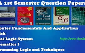 BCA 1st Semester Question Papers Pdf
