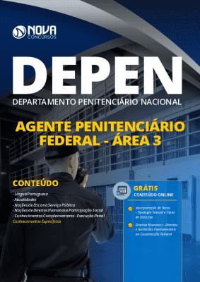 Apostila DEPEN 2020 PDF Agente Penitenciário PDF Grátis Cursos Online