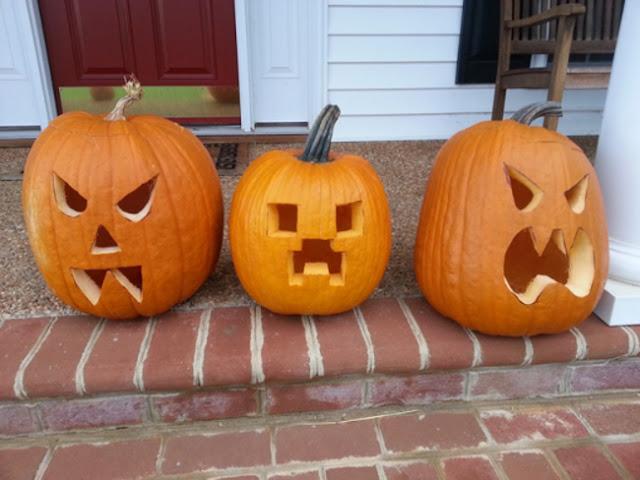 """Thời gian nhanh nhất có thể khắc hình """"mặt quỷ"""" lên quả bí ngô để tạo được chiếc lồng đèn đặc trưng ngày lễ Halloween là 20,1 giây"""