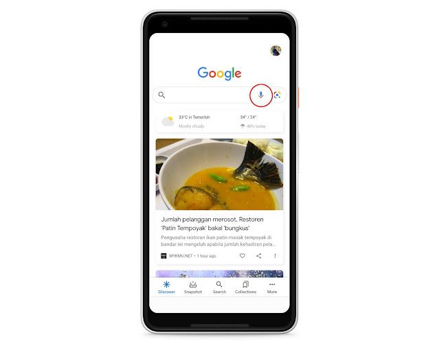 Anda Kini Boleh 'Humming' Sahaja Untuk Cari Lagu Melalui Google Search