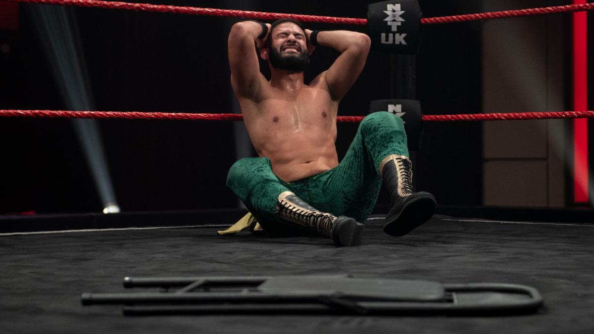 Amir Jordan on WWE NXT UK