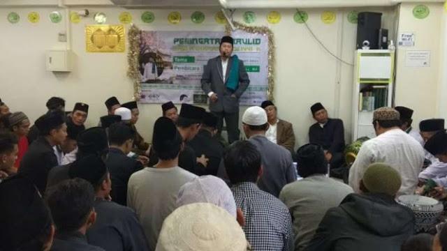Khidmatnya Peringatan Maulid Nabi Muhammad Serentak di Jepang