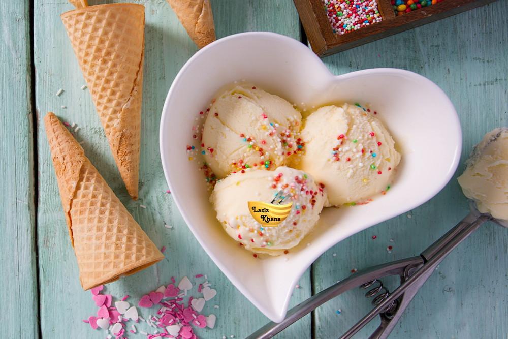 Vanilla Ice Cream Recipe in Hindi