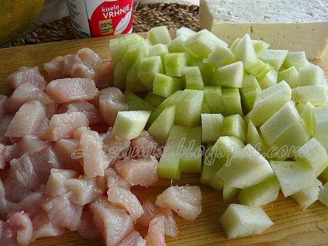 chicken and zucchini