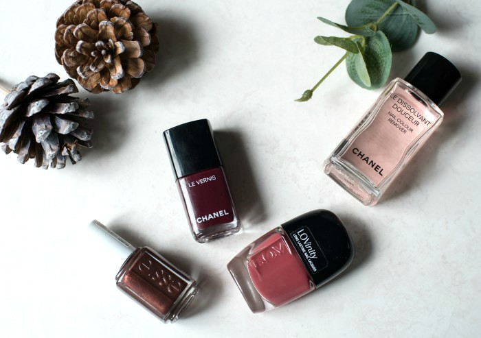 Autumn nail polishes Essie LOV Chanel
