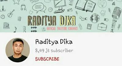 Raditya Dika - YouTubers Indonesia