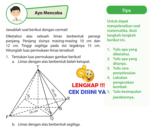 Lengkap Kunci Jawaban Halaman 117 118 Buku Senang Belajar Matematika Kelas 6 Kunci Jawaban Lengkap Dan Terbaru Simplenews