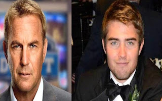 Liam Costner's picture attached with his father Kevin