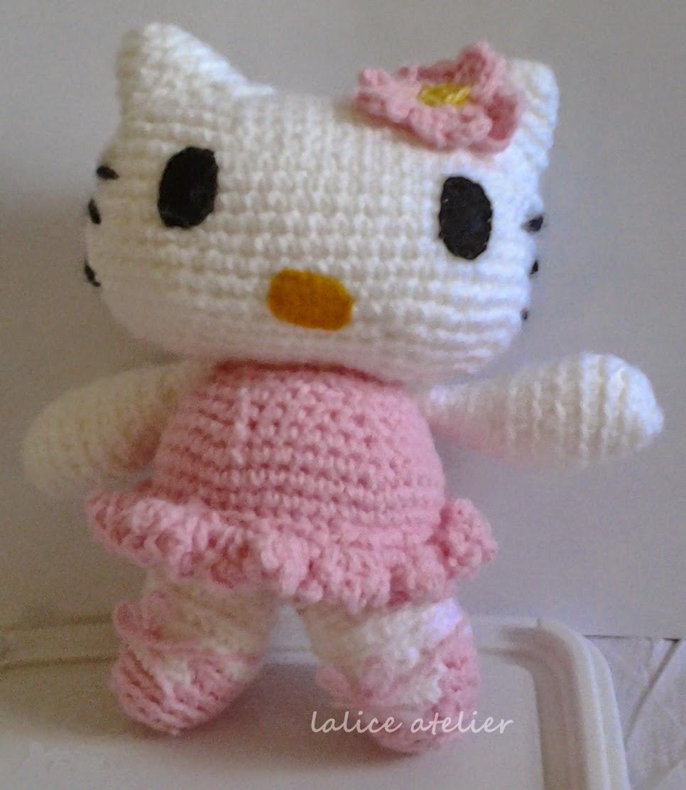 boneco crochê, hello kitty crochê, gatinha crochê, gatinha hello kitty