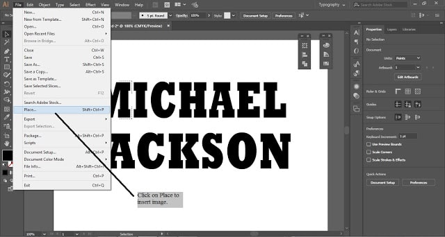Add image in each letter