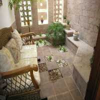 FunEscapeGames-Stone Courtyard  House