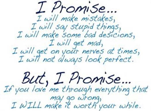 Promise Day Images SMS With Quotes For Boyfriend