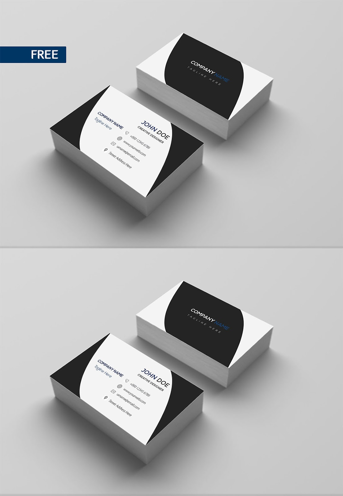 Free Download Print Design Business Card Template PSD ...