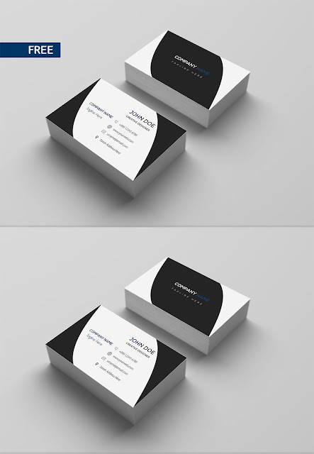 Free Download Print Design Business Card Template PSD