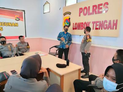 MotoGP, Polisi Lombok Tengah Latihan Bahasa Inggris