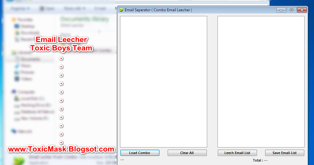 Paypal Email Separator / Leecher Download Free | Toxic Boys Team