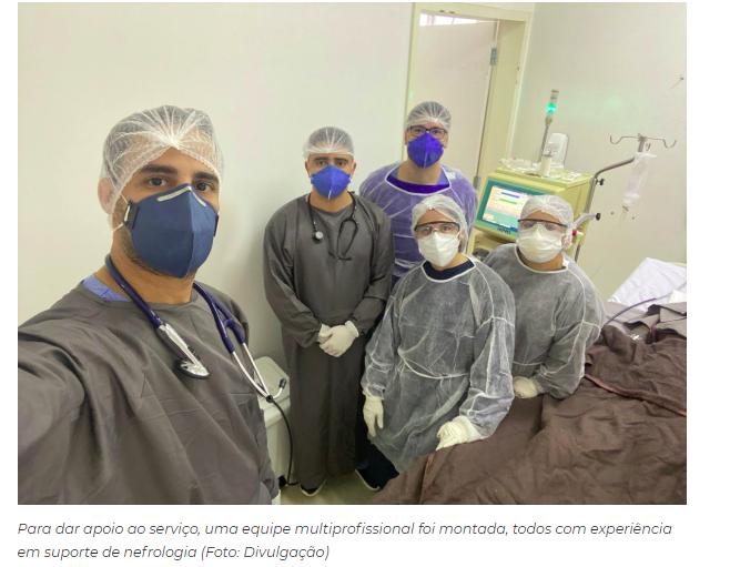 Governo oferece sessões de hemodiálise a pacientes do Hospital Regional de Balsas