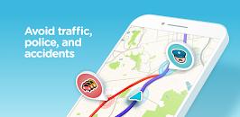 تطبيق الخرائط والتنقل Waze – GPS, Maps & Traffic