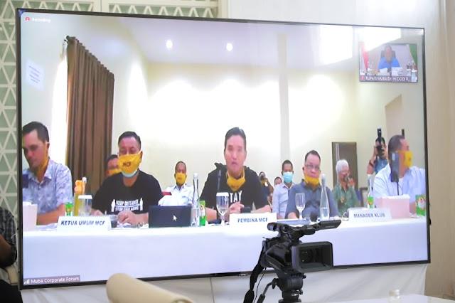 MCF Komitmen Bawa Muba Babel United Lolos Ke Liga 1 Indonesia