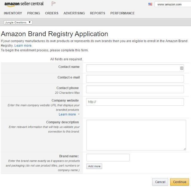 Регистрация своего бренда и торговой марки на Амазон
