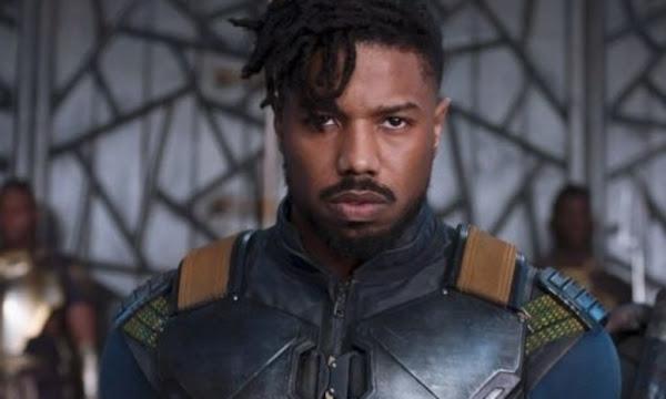 "Michael B. Jordan aberto para um retorno de Killmonger em ""Pantera Negra 2"""
