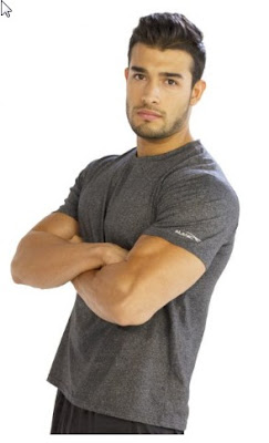 grey fitness t shirts online