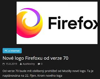 http://azanoviny.wz.cz/2019/08/15/nove-logo-firefoxu-od-verze-70/
