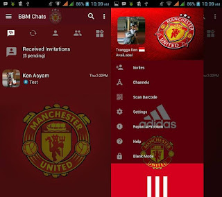 Bbm Manchester united v3.3.4.48 Apk Clone full version