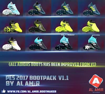 PES 2017 Bootpack by AL AMiR