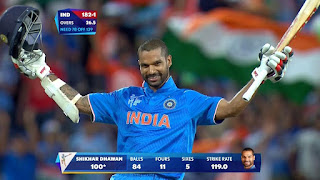 Shikhar Dhawan 100 vs Ireland | 8th ODI Hundred Highlights