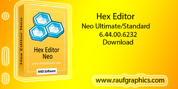 Hex Editor Neo 6.44.00.6232 Standard Download