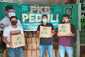 Bahan Pokok dari Gus AMI Disalurkan DPW Sulut Kepada Wartawan
