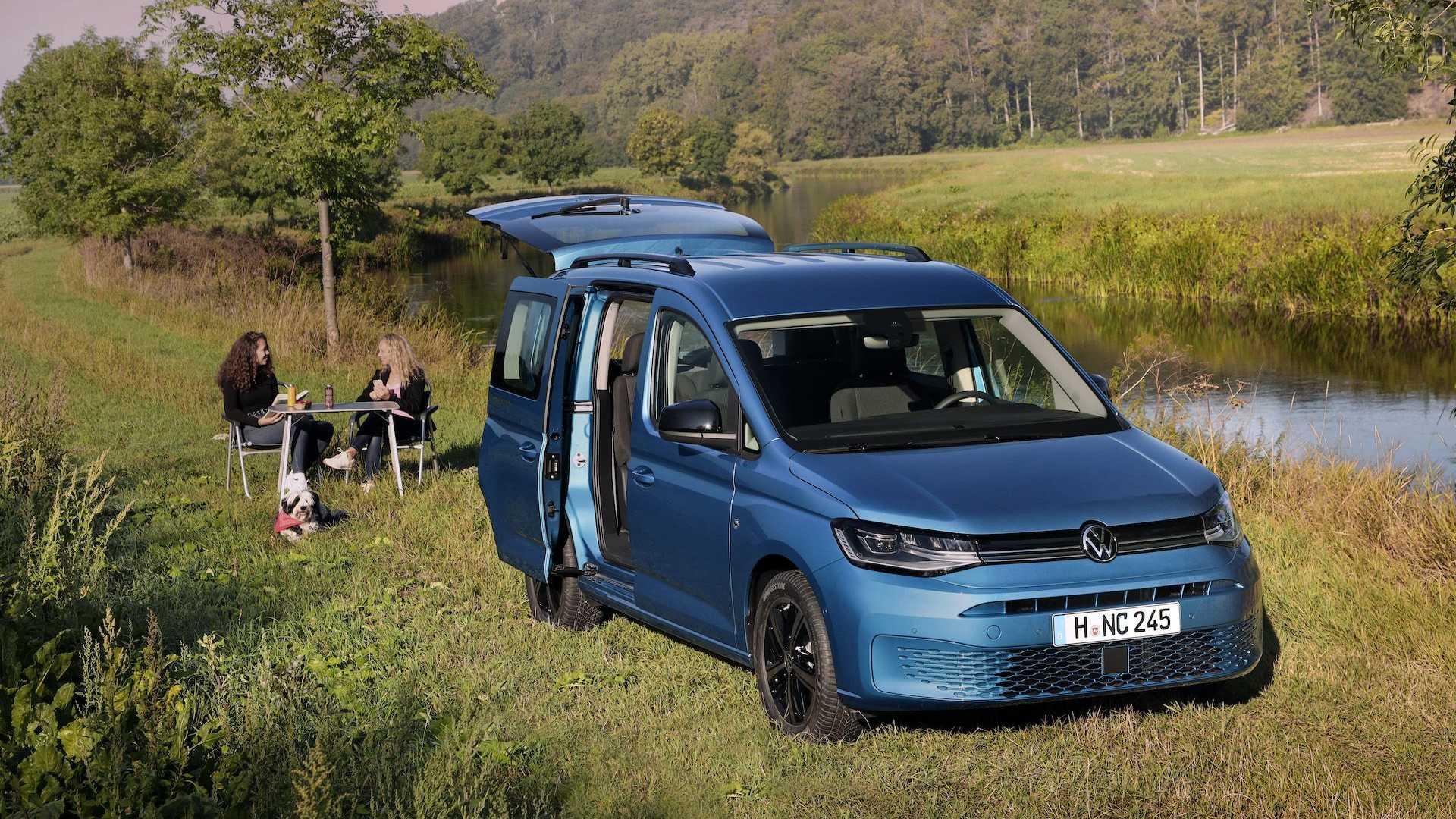 2021 VW Caddy California竟然具備了難以想像的露營機能擴充性   SanjiNoir 黑侍樂讀 