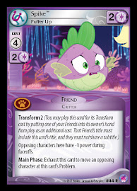 My Little Pony Spike, Puffer Up Seaquestria and Beyond CCG Card