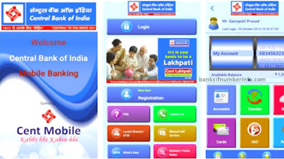Central Bank of India Balance Check by Mobile app