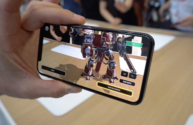 Apple marketing for augmented reality