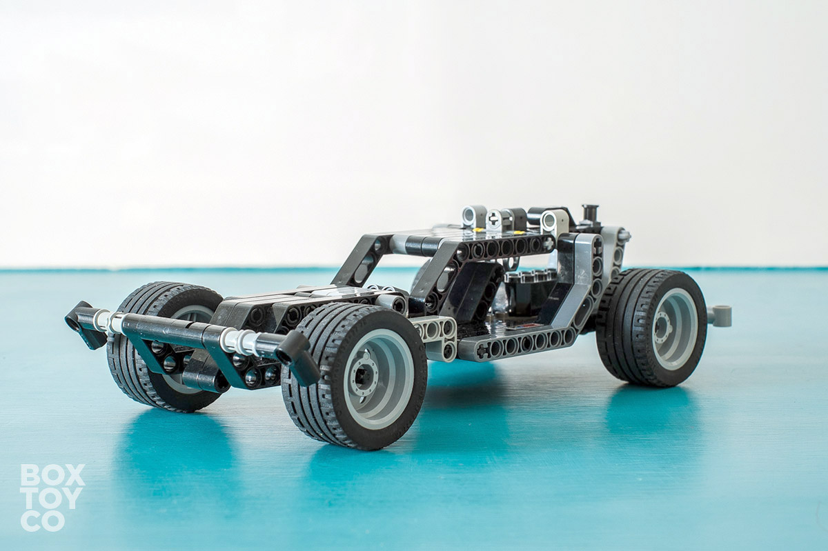 Building Lego Technic Pull Back Cars Boxtoy