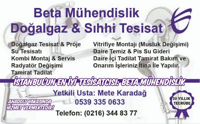İstanbul'un En İyi Tesisatcısı: Beta Mühendislik