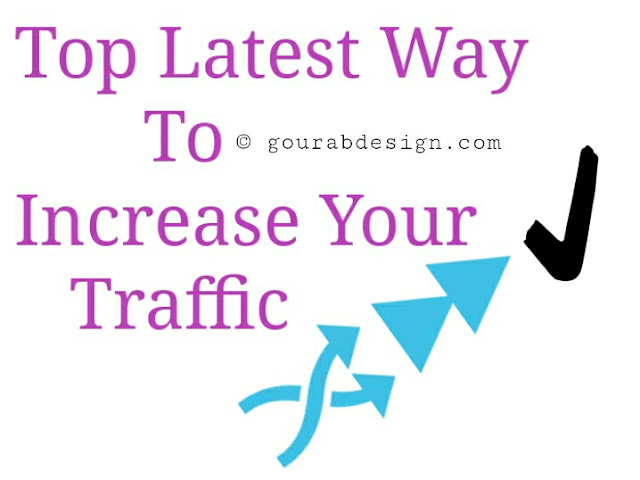 how to increase blog traffic easily image