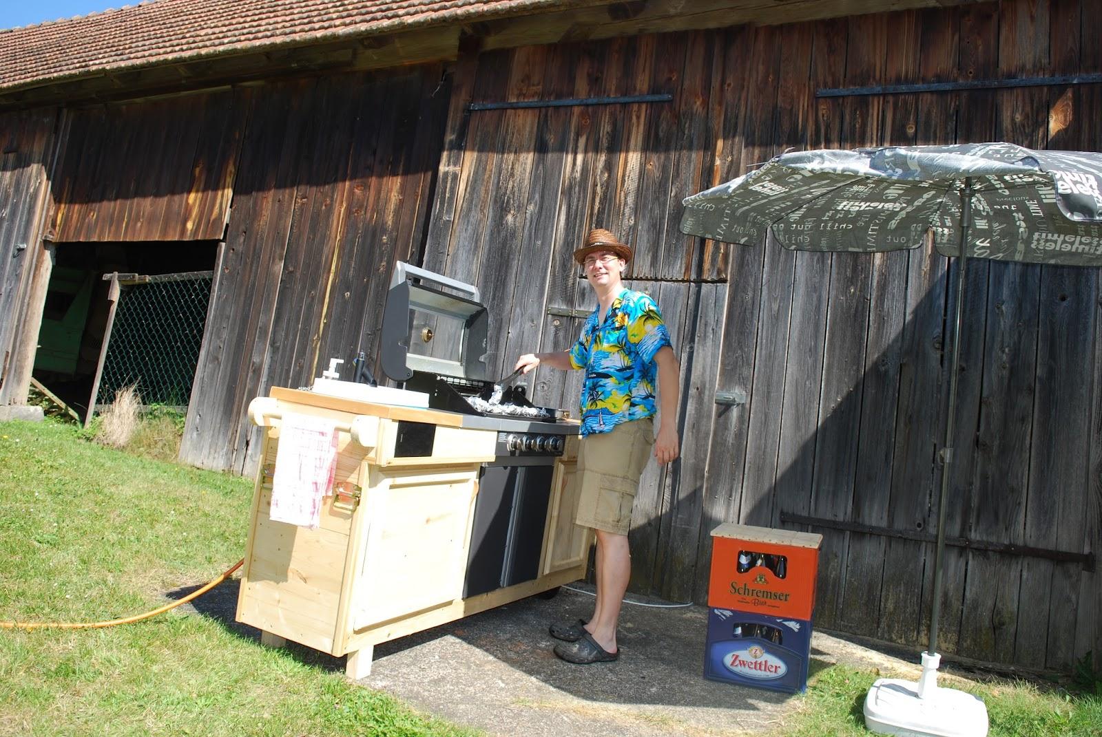 Outdoor Küche Rund : Meine arbeiten rund um s holz das grillomobil oder wie baue ich