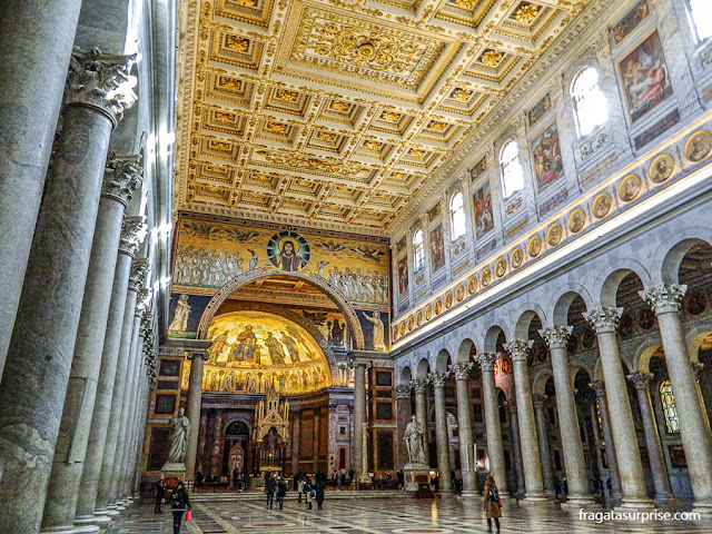 Basílica Papal de São Paulo Extramuros, Roma, Itália