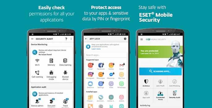 Download ESET Mobile Security Proapk ModPremium Terbaru