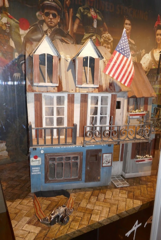 Welcome to Marwen WWII village house model