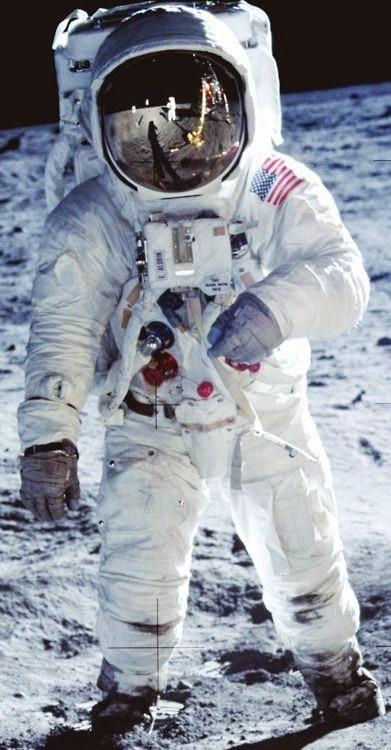 Neil Armstrong becomes the first astronaut to step onto the lunar surface, July 20, 1969.