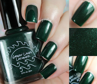Great Lakes Lacquer Faith | OPNL ♥ GLL Mardi Gras 2017