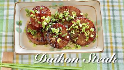 Daikon Radish Steak