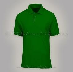 Camista tipo polo verde cali