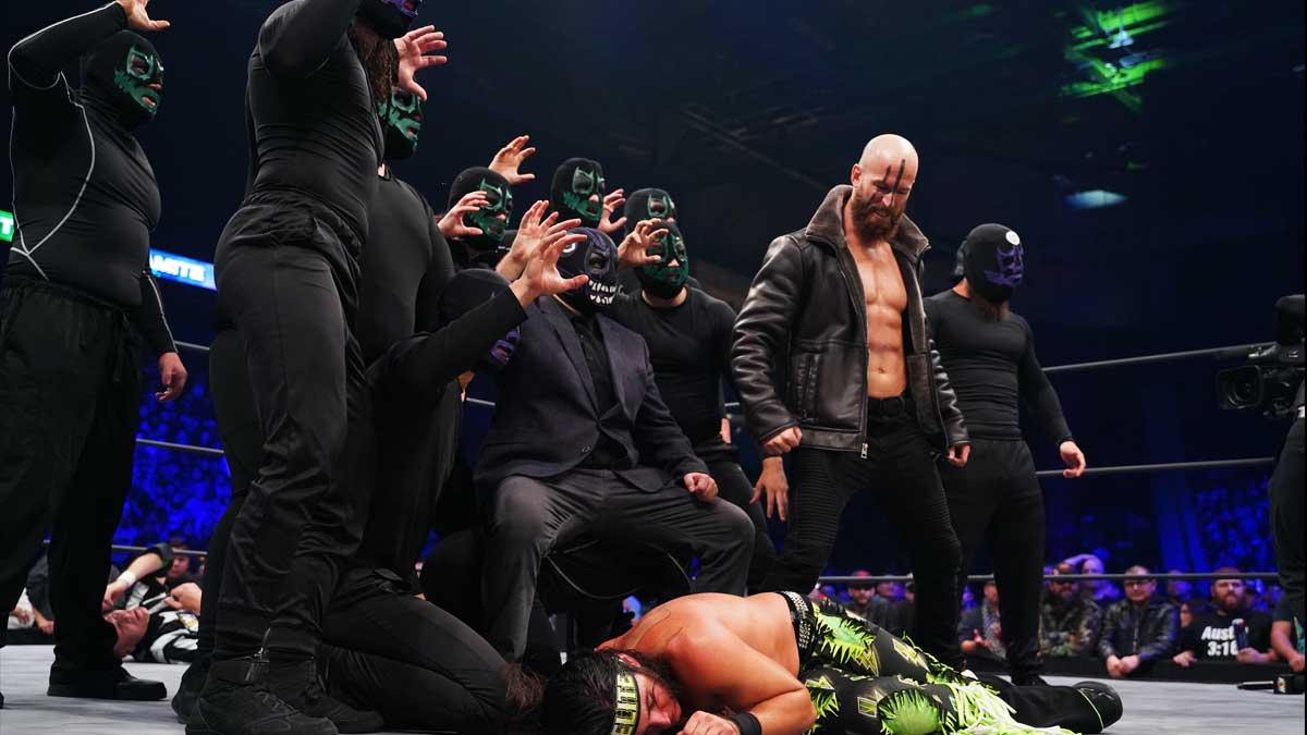 Membros da Dark Order não sabiam que Brodie Lee estava doente