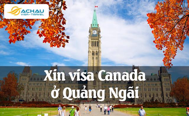 Xin visa Canada ở Quảng Ngãi