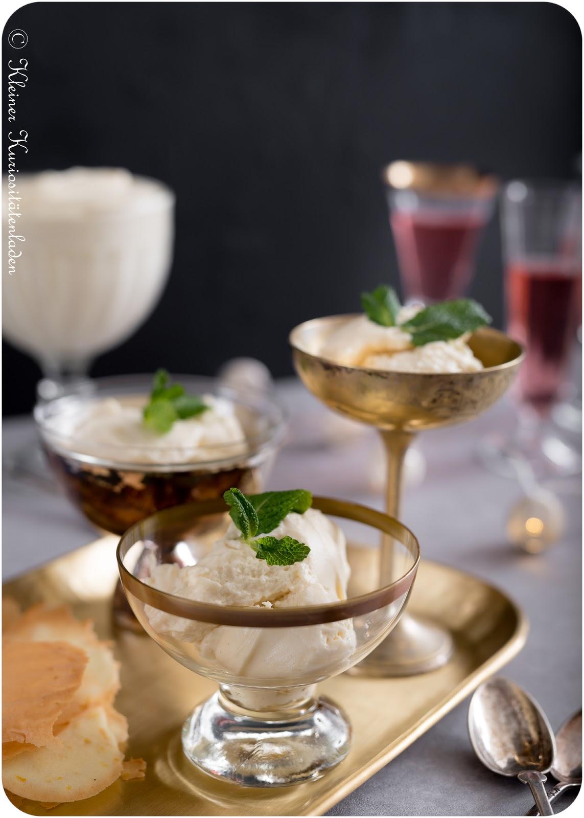 Mousse au Chocolat blanc | Orangen-Hippe
